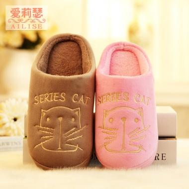 穿着舒适,保暖舒服,居家适用,防滑棉拖鞋