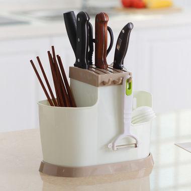 通风沥水,筷勺收纳,适合各类刀具