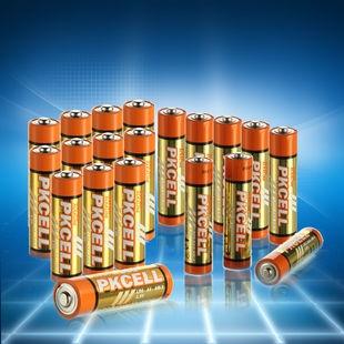 比苛碱性电池5号12节+8节7号