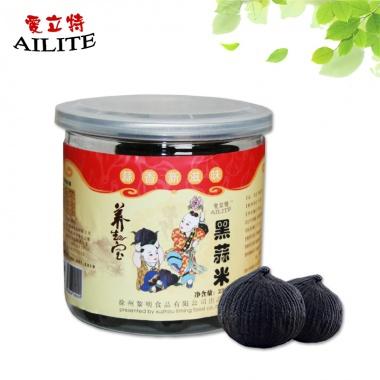 独头黑蒜米,易拉罐包装,易于保存