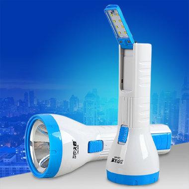 手电+应急灯双功能,美观实用,款式新颖