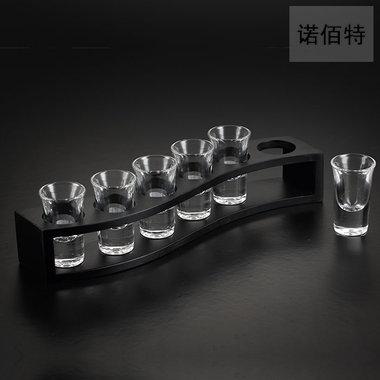 诺佰特厚底吞杯烈酒杯子,吞杯杯架套装,超值组合促销