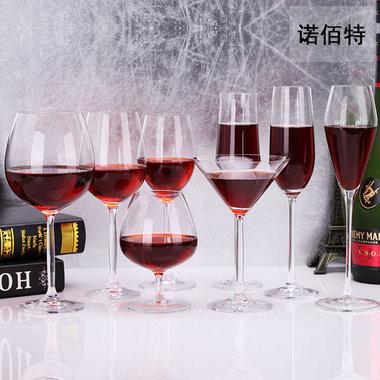 诺佰特无铅高脚红酒杯,无铅材质,晶莹剔透