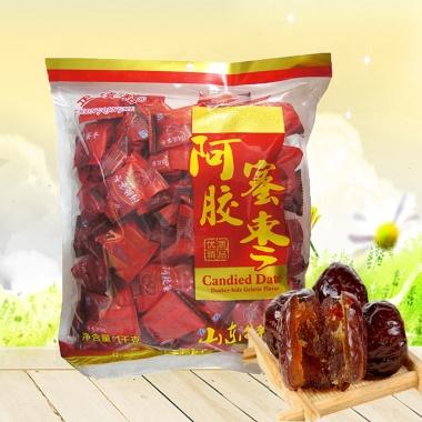山东阿胶蜜枣,单颗独立装,携带方便