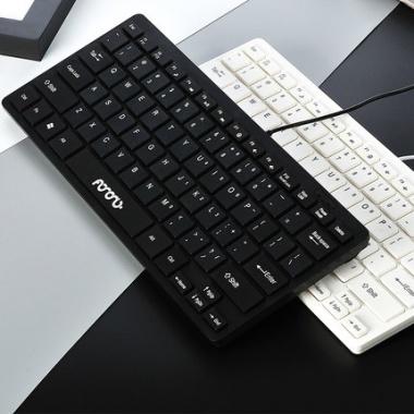 迷你超薄时尚便携USB键盘,优质材质