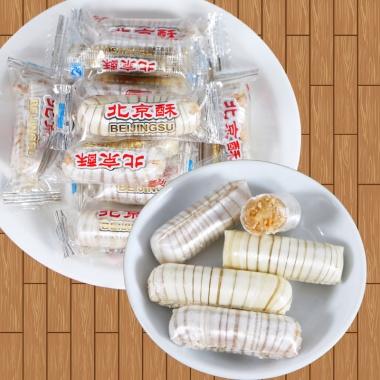 汇福园北京酥糖500g,独立包装,方便食用