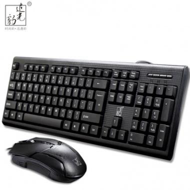 静音防水,圆角舒适,经典耐用,办公家用键盘
