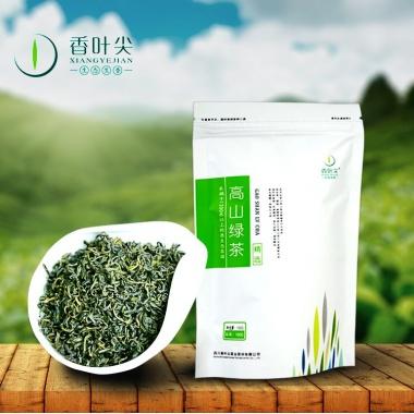 茶香汤浓,口感醇厚,香味浓郁,高山绿茶100g