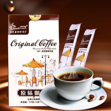 云南小粒咖啡原味速溶,独立小条