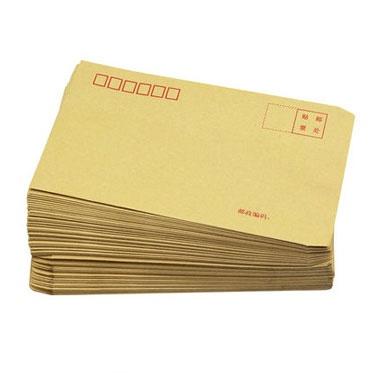 白色、黄色邮局专用信封,100个