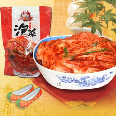 素人码头韩国泡菜,辣白菜东北风味