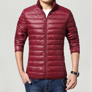 男士立领轻薄保暖羽绒服,尺码标准,建议亲们根据平常尺码下单即可
