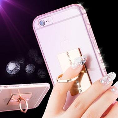 优选材质,手工镶钻,奢华闪耀,iPhone6/6s手机壳
