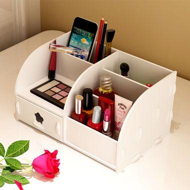 桌面收纳盒,办公化妆品文具抽屉式置物盒
