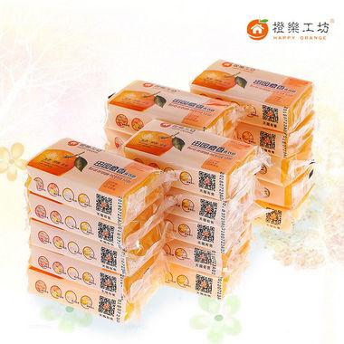 清新橙香抑菌健康,囤货多买多实惠,洗衣皂20块实惠促销装