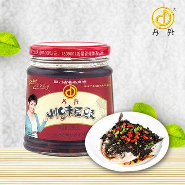 川味豆豉280g,香味浓郁,美味可口