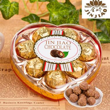 独特外壳造型,果仁与巧克力的结合,精致包装