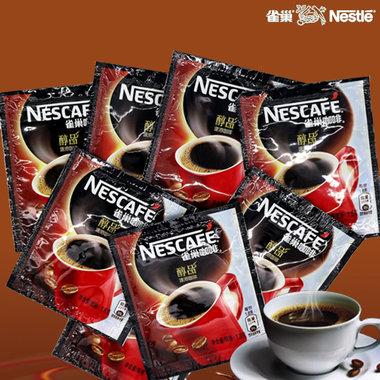 雀巢醇品黑咖啡, 口味醇香,独立小袋冲调方便