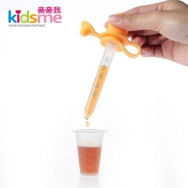 【0-6岁】亲亲我婴儿喂药器 进口PP材料,带刻度,附量杯(限购1件)