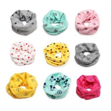 【1岁1个月-12岁】可做口水巾,舒适保暖,时尚围脖