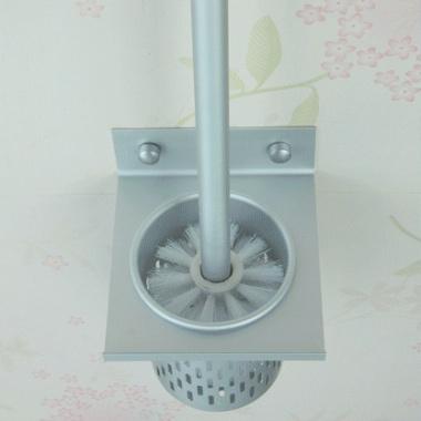一体成型底座,太空铝材质,卫生间厕刷套装