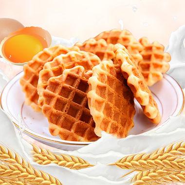法式蛋黄煎饼,独立包装,酥脆可口